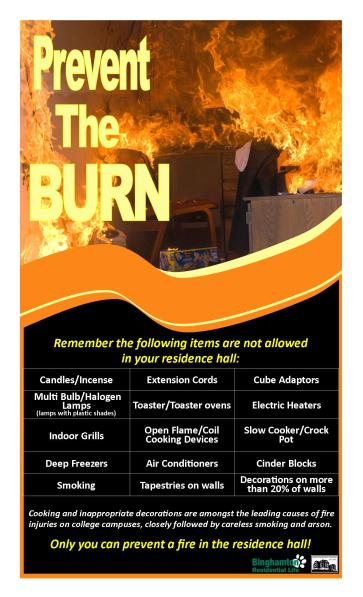 Image of fire safety poster
