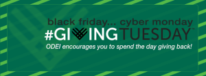 #GivingTuesday Facebook Banner