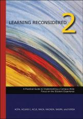 Image of learning reconsidered 2 a book