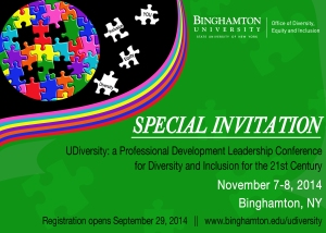 UDiversity Conference Save The Date Front