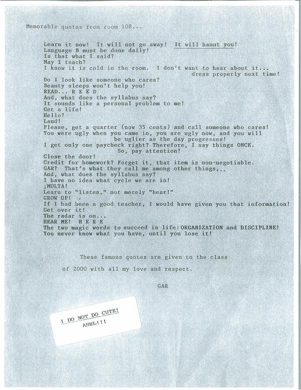 GAR Letter Part 2